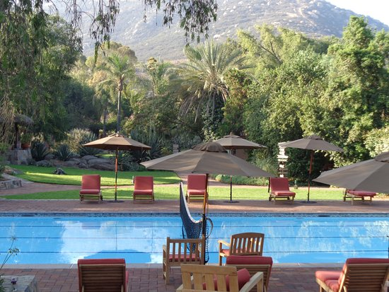 Rancho La Puerta Spa: Beautiful pool in beautiful setting