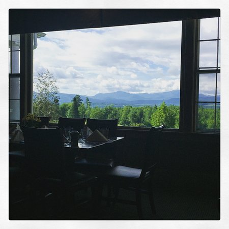 Whitefield, NH: View from breakfast.
