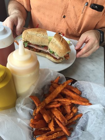 Stanley Club and Sweet Potato Fries