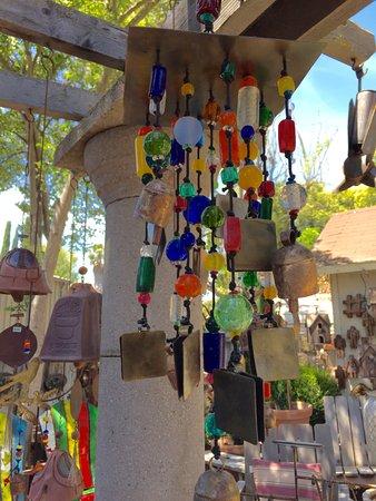 Los Olivos, Kalifornien: Wind chime
