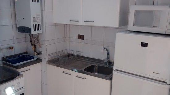 Dali Apart Hotel: Cocina