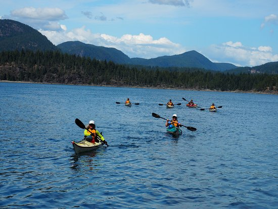 Surge Narrows, Kanada: Beautiful Kayaking Environment