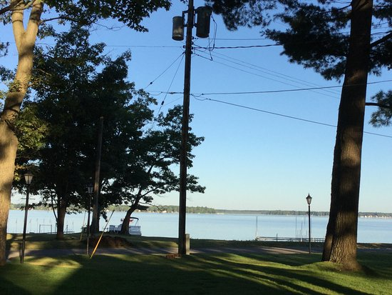 Cadillac, MI: View from patio!