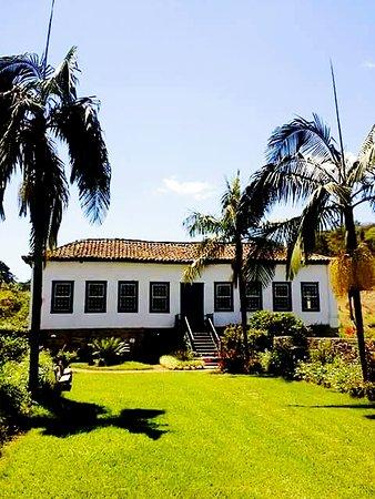 Barra do Pirai, RJ: Fachada principal da fazenda