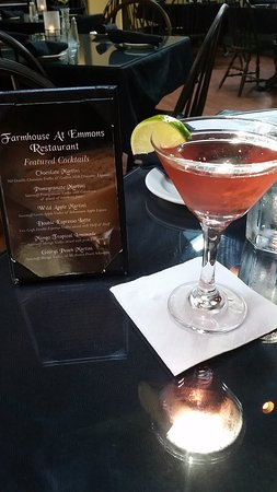 Farmhouse Restaurant: Pomegranate Cosmo