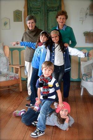 La Posada del Cafe: Las anfitrionas son personas muy especiales y dulces con toda la familia.