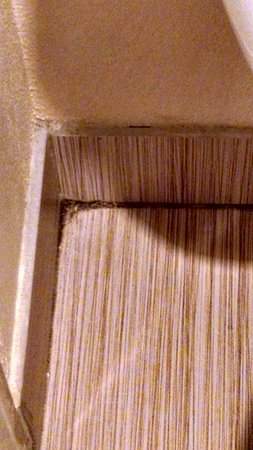 La Quinta Inn & Suites Lafayette: Dirt in corner of bathroom