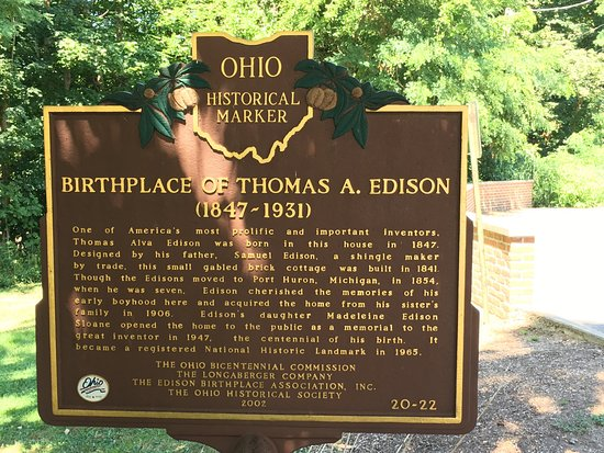 Thomas Edison Birthplace : photo1.jpg