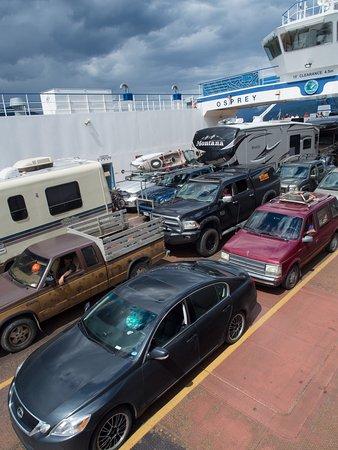 Balfour, Canadá: Car deck