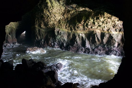 Florence, OR: sea cave