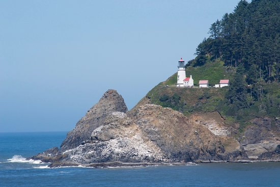 Florence, OR: view of heceta head lighthouse