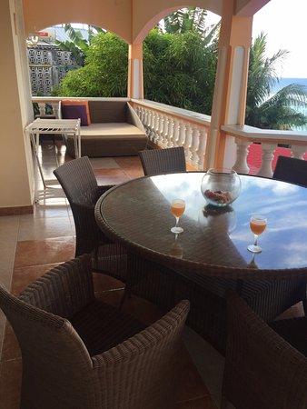 Anse Royale, سيشيل: the balcony