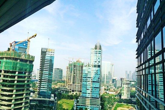 The Ritz-Carlton Jakarta, Mega Kuningan: View from 1811