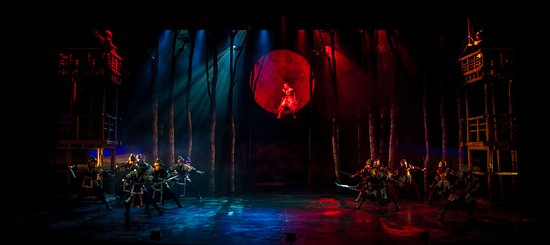 Jeongdong Theater: one scean from <SILLA>