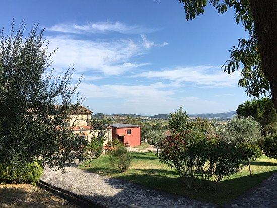 Agriturismo Le Case Rosse di Montebuono: Una vera oasi di pace e serenità