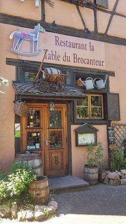 la table du brocanteur - picture of la table du brocanteur, colmar