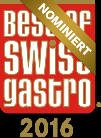 Maloja, Switzerland: Nominierung Best of Swiss Gastro