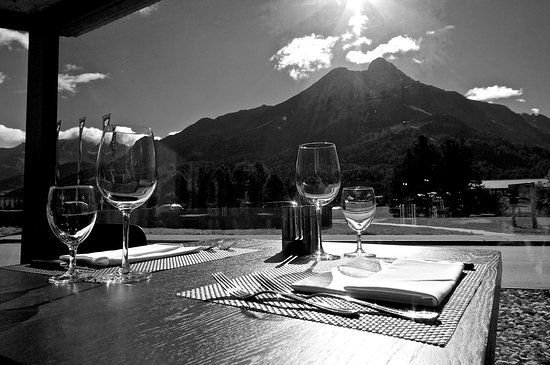 Maloja, Switzerland: Aussicht Restaurant