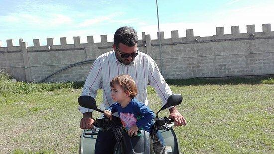 Modica, إيطاليا: Mini quod per bambini... na figata!