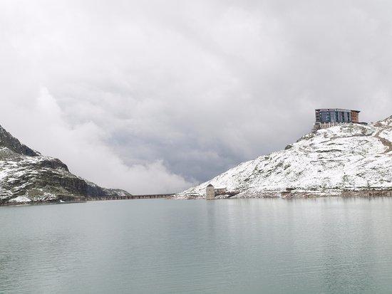 Uttendorf, Østrig: ....nach einem kurzen Schneefall...