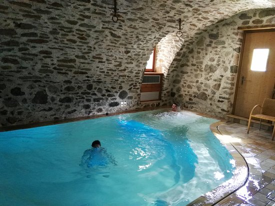 Residence Ca' Delle Margherite : Piccola ma deliziosa piscina del centro benessere