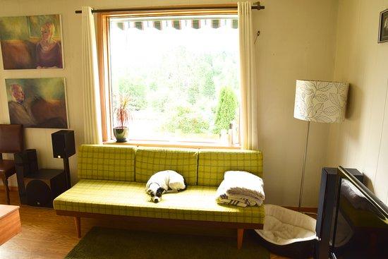 Hordaland, Norwegia: Shared living room