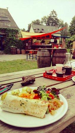Laniscat, Francia: Wrap poulet tandoori : un régal!