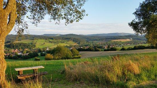 Hilders, Γερμανία: Umgebung des Hotels