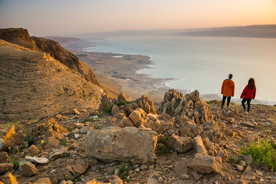 Beit Sahour, Παλαιστινιακά Εδάφη: Standing at the Dead Sea observation point