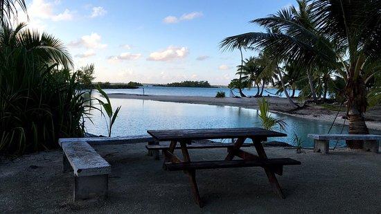 Tuamotu Archipelago, Polinesia Francesa: Pension au petit matin