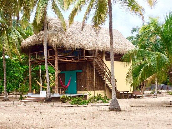 Foto de aite eco hotel palomino caba as en la playa - Cabanas en la playa ...