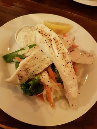 Ocean Child Inn : Grilled Trevalla
