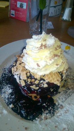 Center Parcs Longleat Forest: Pancake house treat