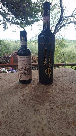 Agriturismo Castrum Normanno: Vini buoni