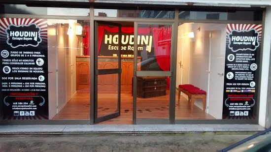 ‪Houdini Escape Room‬