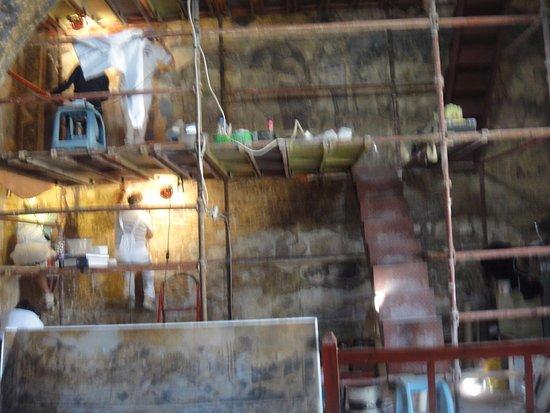 Azraq, Jordania: Restoration work