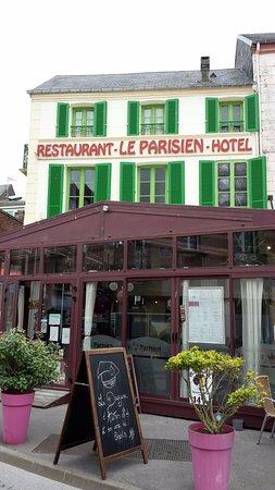 Le Parisien : façade