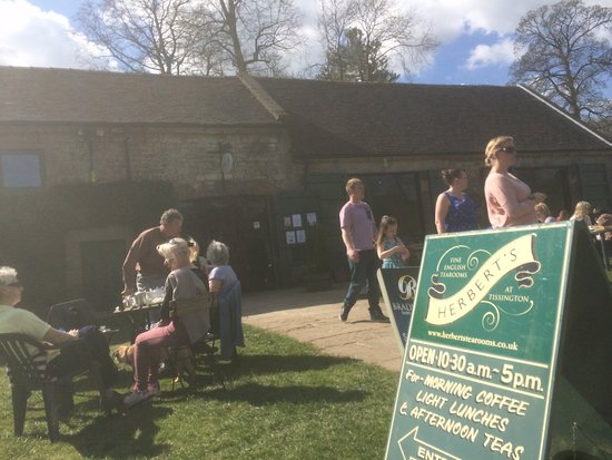 Tissington, UK: Herbert's Tearooms