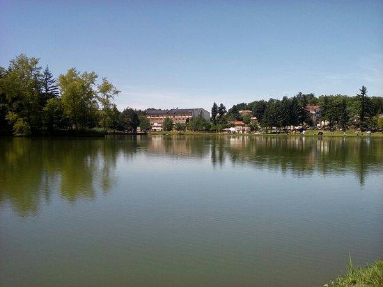 Veduta lago foto di lago di acquapartita bagno di - Parco laghi bagno di romagna ...
