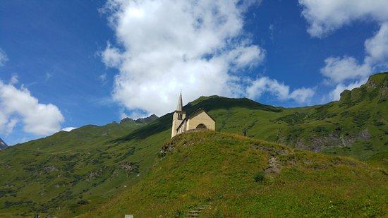 Formazza, Italie : Chiesetta a Riale