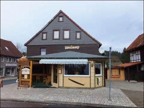 Altenau, Alemania: Kleines Restaurant Kuschelig und urig