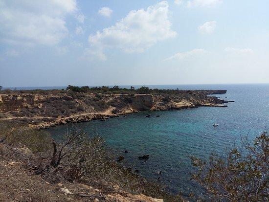 Distrito de Famagusta, Chipre: вид с тропы