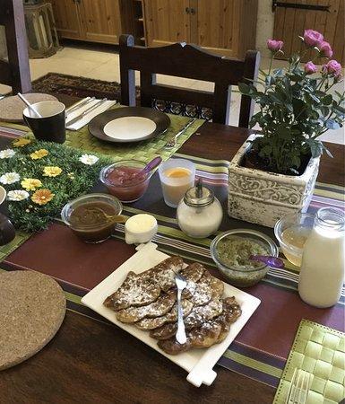 Varennes sur Loire, France : Breakfast with Les Peupliers jams