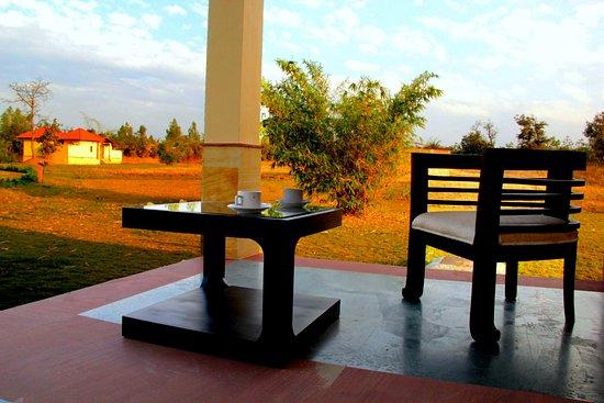 Balcony - Picture of Soulacia Hotel & Resort, Kanha National Park - Tripadvisor