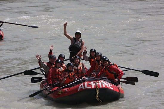 Alpine Rafting July 2016 - Guide was called Luke - Kicking Horse River - Golden BC, Canada