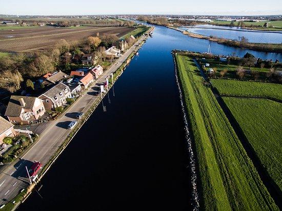 Restaurant in de Hanepoel aan de Ringvaart van de Haarlemmermeer