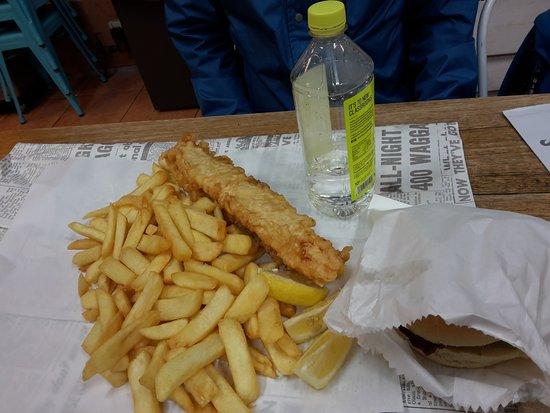 Oakleigh, Australien: fish and chip