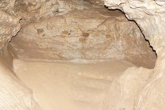 Baskuchanskaya Cave: Спальное место в спальном зале