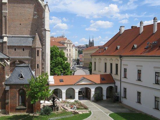 Brno, Czech Republic: Mendel's monastery.