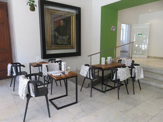 Brno, Czech Republic: Cafe Mendel.